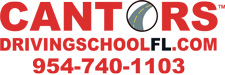 Logo for Cantor's Driving School in Florida