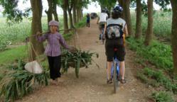 Vietnam bicycle tour.