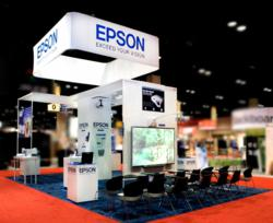 Trade Show, Booth, Epson, Trade Show Photography