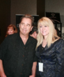 Kim Power Stilson next to Beau Bridges