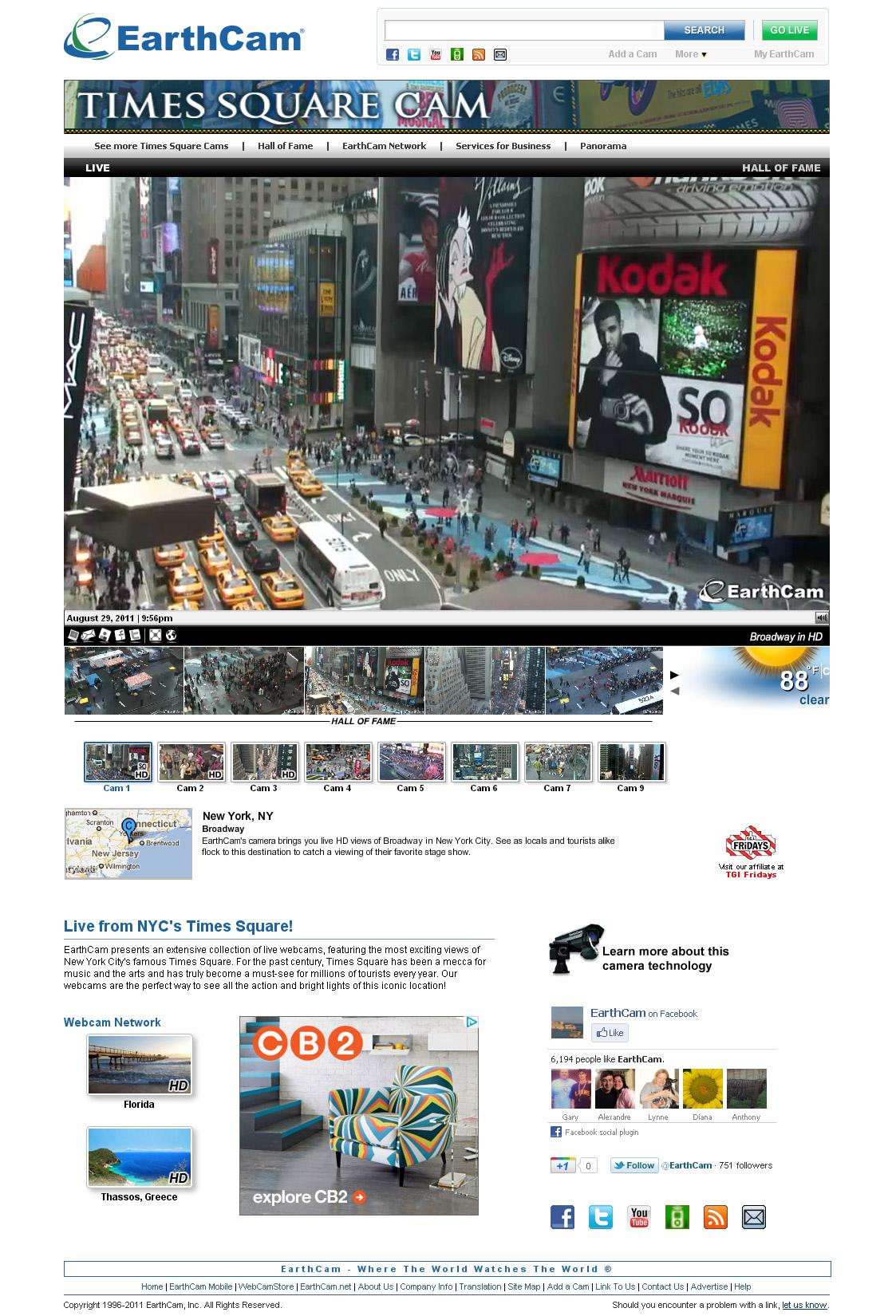 EarthCam Celebrates 15 Years As Webcam Network Leader