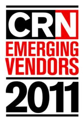CRN Emerging Vendor 2011 logo
