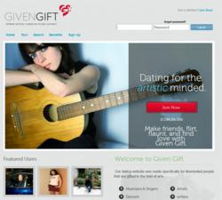 Given Gift Website