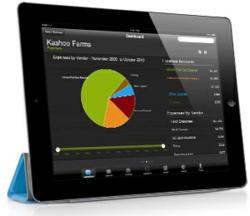 free Kashoo iPad accounting app