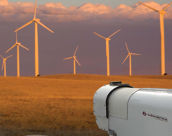 Atmospheric stability and hub height wind measurements are used to optimize wind energy.