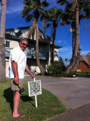 South Padres Island real estate QR codes