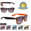 Neon Two Tone Wayfarer Sunglasses