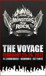 Historic 80s Heavy Metal Cruise Announced: Monsters of Rock Cruise to Sail the Bahamas in Fall 2012