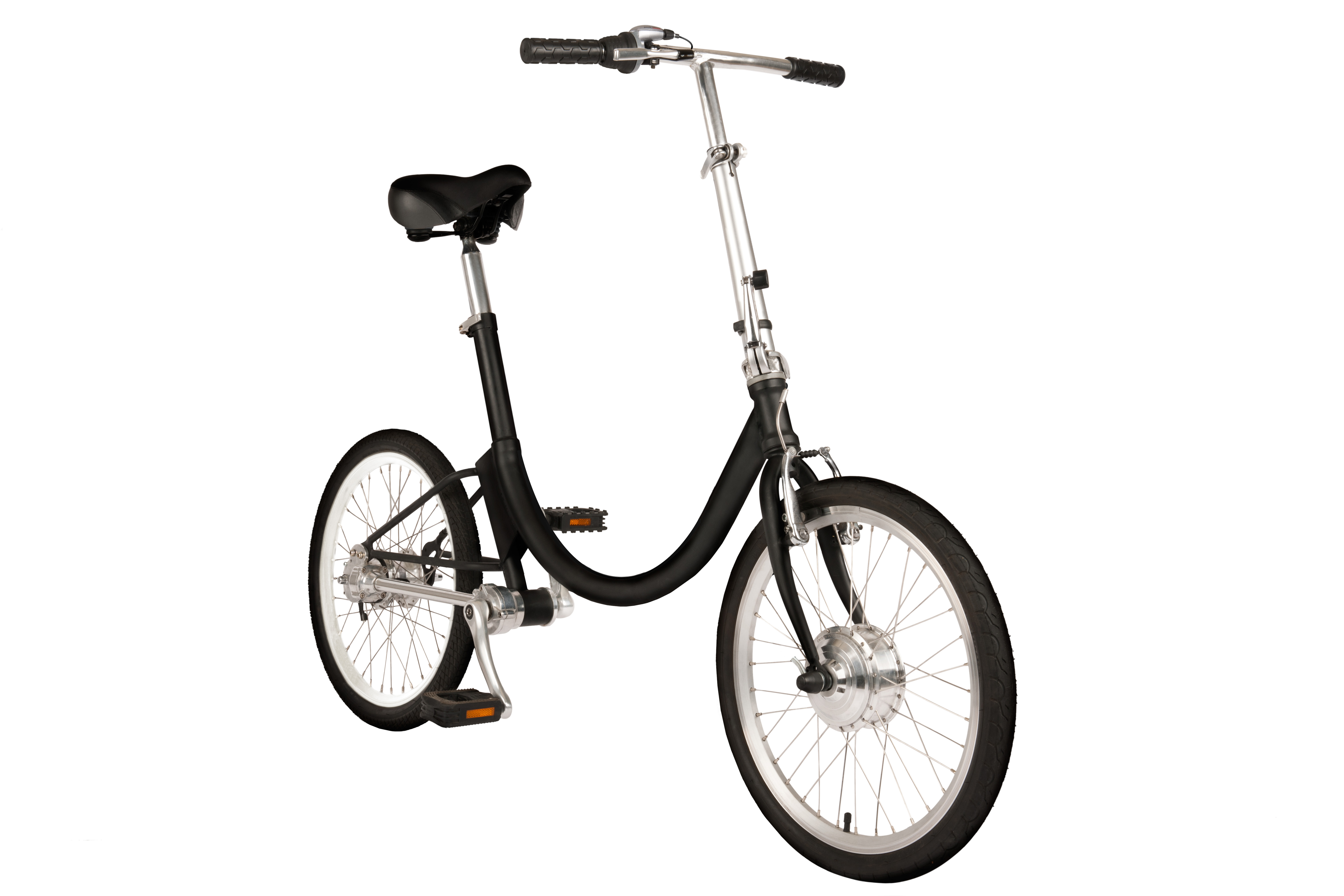 sustainable electric folding bike startup giving back to