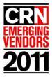 CRN Emerging Vendor 2011 logo