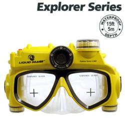 liquid image swimming mask camera