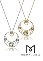Medialuna Pendant | Mishca Jewels London Desire Collection