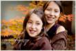 Autumn Sisters - NJ Child Photographer Christine DeSavino