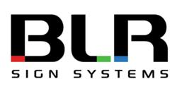 BLR Sign Systems introduces new logo
