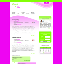 Small Business Web Design Example