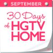 """30 Days of HGTV HOME"" is a month-long event celebrating the HGTV HOME Flooring by Shaw collection. Shaw is giving away a free floor every day in September during the Floor A Day Giveaway."