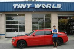 Austin with 2006 Daytona Edition Dodge Charger