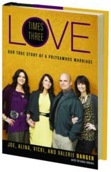 Jacket Image - Love Times Three by Joe Alina, Valerie and Vicki Darger with Brooke Adams
