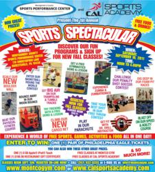 Montgomery County Sports Performance Center and CAL Sports Academy Sports Spectacular, Youth Sports Facility PA