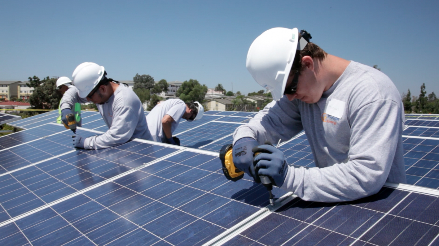 learn how to install solar panel school