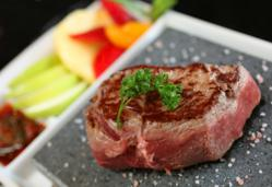 steak on a stone, stonegrill, hot rock, cooking rock
