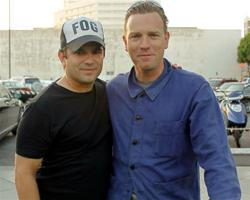 Director Scott Di Lalla with Ewan McGregor at the I Am ZoZo preview screening