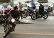 The Venice Vintage Motorcycle Club (VVMC) arrived en masse to watch I Am ZoZo
