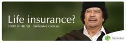 Life insurance? Call 1300 20 40 50 or visit www.lifebroker.com.au