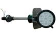 The Magnalight LEDLB-21-S-E LED Light Emitter on Perko Pole Mount provides boaters with an efficient and effective way to mount a powerful LED spotlight on almost any boat from a 13' skiff to a 30' cruiser.