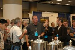 investigators networking at the HTCIA conference