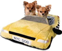 NYC doggie bed lets city savvy pups sleep in urban style!