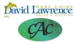 David Lawrence Rare Coins hosts an internet auction devoted exclusively to PCGS & NGC certified U.S. -- all approved by CAC
