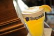 Hoegaarden at happy hour in Chicago