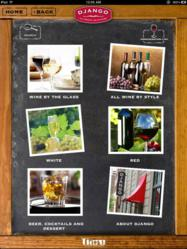 Tiare Technology Wireless WineList Solution for Ordering Wine and Cocktails on iPad Tablets in Restaurants and Bars