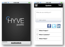 HYVE Public Screenshots