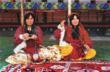 Rug Weavers Spinning their Wool