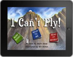 'I Can't Fly' on iPad