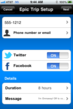 Onmaway - Share your location with friends and family via text, email, or social network.