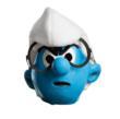 Brainy Smurf Mask