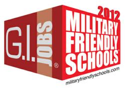 2012 Military Friendly Schools