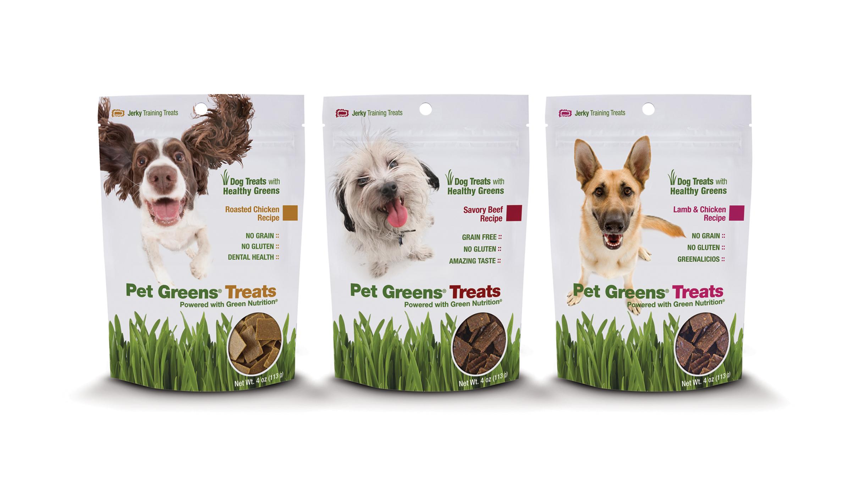 Bell Rock Growers Introduces Pet Greens Dog Treats Lamb