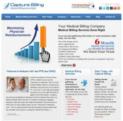 Capture Billing Launches New Website and Medical Billing Blog