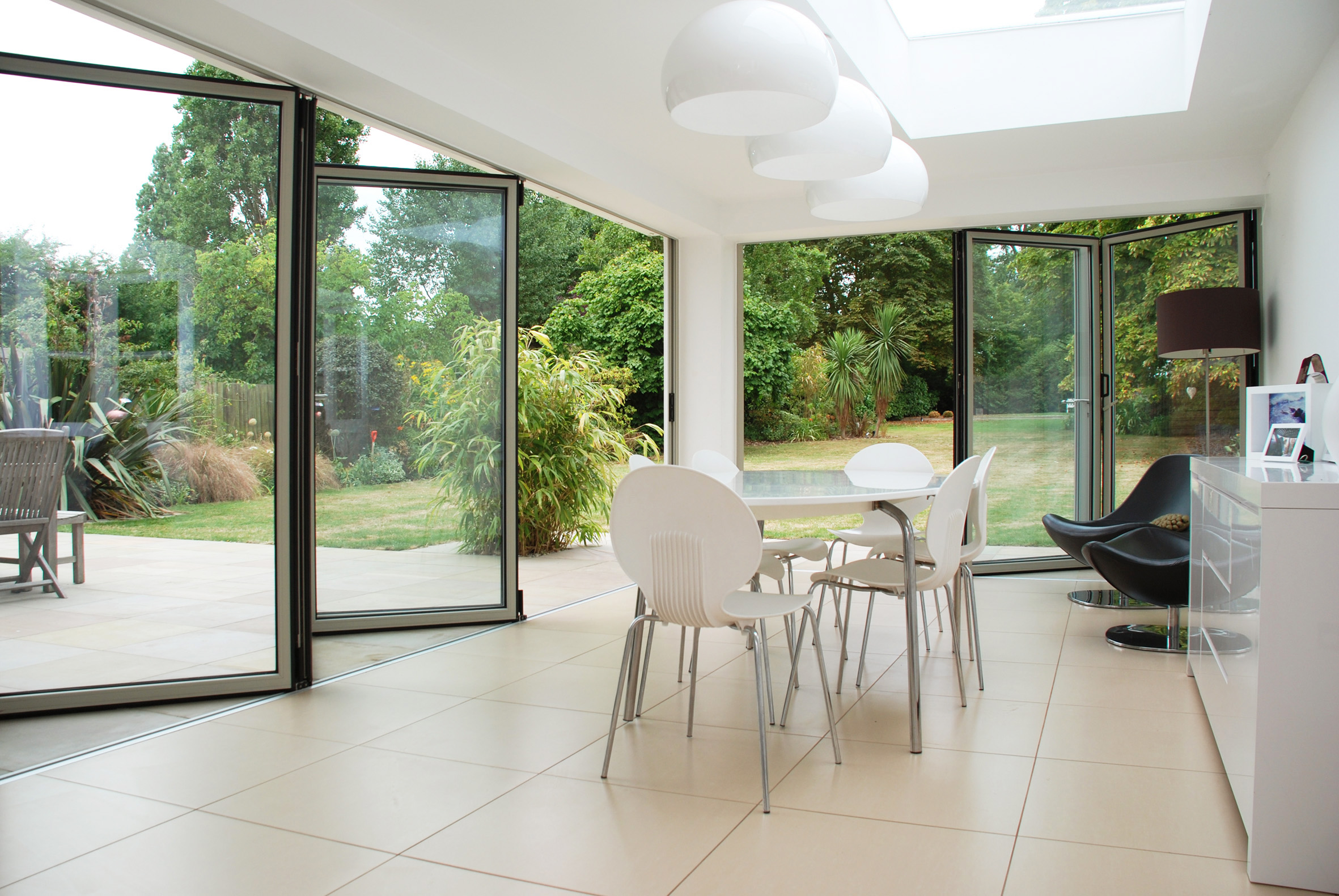 Aluminium Folding Sliding Doors 2362 x 1581
