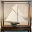 "Model of the America's Cup ""K"" Boat, Columbia"