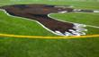 Mansfield High School's New Insurrection turf