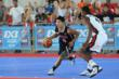Action at the inagural FIBA 3x3 World Championship