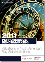 Performance Benchmarking 2011: Valuations in North American Buy-Side Institutions