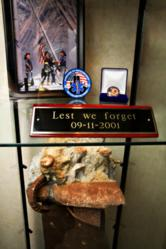 9/11 Artifact on Public Display at National EMS Academy in Lafayette, LA