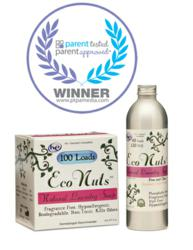 Eco Nuts soap nuts and Eco Nuts liquid detergent win the PTPA award
