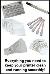 ID Card Group's printer cleaning kits work as well as name-brand kits, but cost up to 60 percent less.
